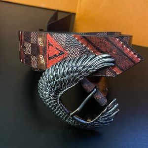 Authentic limited edition Louis Vuitton belt